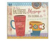 Faithful Message Wall Calendar by Legacy