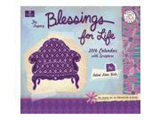 Blessings For Life 2016 Wall Calendar by Legacy