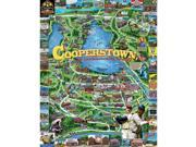 Cooperstown 1000 Piece Puzzle by White Mountain Puzzles