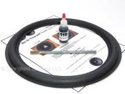 "Rockford Fosgate 12"" Subwoofer Foam Surround Repair Kit - RFP 1412, 1812, 2412, 2812 and more"
