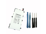 Genuine Original Samsung T4000E 4000mAh Battery for Samsung Galaxy Tab 3 7.0 SM-T210 T211 T210R T215 T217 P3200 with Installation Tools