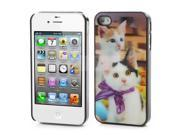 Charming Cat 3D Hard Protective Case Cover for iPhone 4 4S