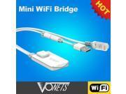 VONETS 150Mbps Mini Wireless WiFi Bridge & Repeater VAP11N for X-BOX360, IP Camera, IPTV, Printer etc