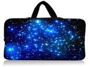 """WATERFLY Blue Stars 11.6"""" 12"""" 12.1"""" 12.2 Inch Laptop Case Bag For DELL LatitudeXPS Duo/ Samsung/ ASUS/HP/Thinkpad/TOSHIBA/intel Letexo/Apple iBook / Samsung"""