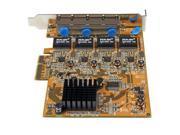 StarTech 4 Port PCI Express Gigabit Ethernet NIC Network Adapter Card