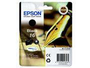 Epson C13T16214010 (16) Ink cartridge black, 175 pages, 5ml