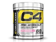 Cellucor C4 Pre Workout Supplement, Creatine Nitrate, Nitric Oxide, Beta Alanine & Energy, 60 Servings, Pink Lemonade,G4
