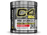 Cellucor C4 50X Pre Workout Supplement, High Energy Preworkout Powder with XCELICOR, 30 Servings, Fruit Punch