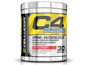 Cellucor C4 Mass Pre Workout Supplement, Carb & Creatine Muscle Builder for Size & Strength, 30 Servings, Fruit Punch