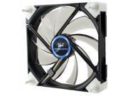 Kingwin DB-125 120mm Black PC Computer Case fan w/ White LED