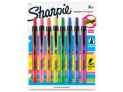 Sanford Sharpie Smear Grd Retractable Highlighters