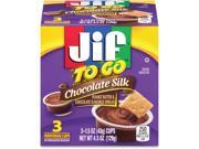 Folgers Jif To Go Chocolate Pnut Butter Spread Cups