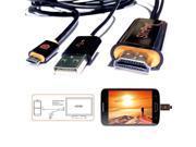 cSlim Port to HDMI Adapter USB Cable for Google Nexus 4 5 7 LG Optimus G Pro TVs