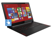 HP OMEN 15t Quad Touch Intel Core i7-4720HQ NVIDIA GeForce GTX 960M 4GB Discrete Graphics  512GB SSD 16GB Memory Windows 8.1 Pro 64 Backlit Keyboard 15.6-inch diagonal Full HD WLED-Backlit IPS Display