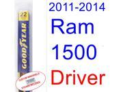 2011-2014 Ram 1500 Wiper Blade (Driver) (2012,2013)