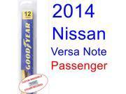 2014 Nissan Versa Note Wiper Blade (Passenger)