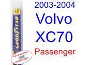 2003-2004 Volvo XC70 Wiper Blade (Passenger)