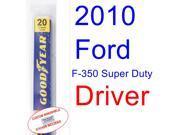 2010 Ford F-350 Super Duty Wiper Blade (Driver)