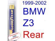 1999-2002 BMW Z3 M Coupe Wiper Blade (Rear) (2000,2001)