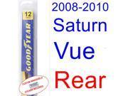 2008-2010 Saturn Vue Wiper Blade (Rear) (2009)