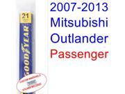 2007-2013 Mitsubishi Outlander Wiper Blade (Passenger) (2008,2009,2010,2011,2012)
