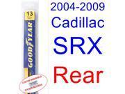 2004-2009 Cadillac SRX Wiper Blade (Rear) (2005,2006,2007,2008)