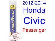 2012-2014 Honda Civic(Coupe) Wiper Blade (Passenger) (2013)