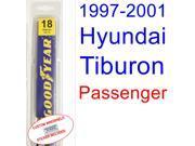 1997-2001 Hyundai Tiburon Wiper Blade (Passenger) (1998,1999,2000)