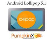 "10.1"" 32GB Octa-Core A83T Android Lollipop 5.1 Tablet PC, 1GB RAM, 8-Core GPU, HD 1024x600, Dual Camera 2MP, Dual Speakers, HDMI, Wifi, Bluetooth, Google Play - AmericanPumpkins"