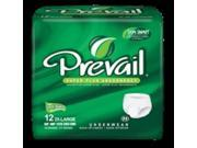 Prevail Absorbent Underwear, Pull On, 2X-Large, 68-80 Inch Waist/Hip, Heavy Absorbency - 1 Pack of 12