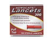 Advocate Pulltop Lancets 100/bx