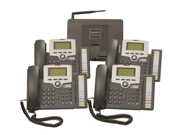 Mission Machines Z60 VoIP Phone System Package with 4 Phones