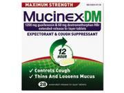 Dm Max Strength Expectorant And Cough Suppressant, 28 Tablets/box By: Mucinex
