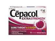 Sore Throat And Cough Lozenges, Mixed Berry, 16 Lozenges By: Cepacol