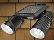 TWINSPOT PRO Solar Motion Adjustable Dual Spotlight W/ Extension Bracket