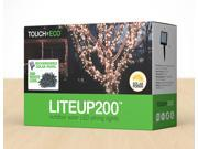 LITEUP200 Outdoor Solar 200 LED String Lights W/ Two Lighting Modes