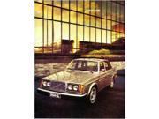 1977 Volvo 242 244 245 264 265Gl Sales Brochure Literature Advertisement Options