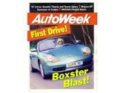 1997 Porsche Boxster Autoweek Magazine Article