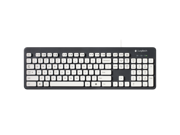 10pcs/Set Logitech K310 920-004033 Wired Washable and Waterproof Keyboard - Black/White