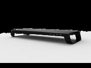 MonitorMate miniONE monitor stand with 4 USB Hub (Black)