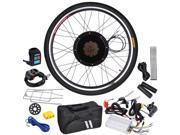 "48V 1000W 26"" Rear Wheel Electric Bicycle Hub Motor Engine Kit Conversion Speed Control"