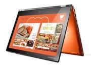 "Lenovo Yoga 2 Pro Convertible Ultrabook (59428042)- Core i7-4510U, 256GB SSD, 8GB RAM, 13.3"" QHD+ 3200x1800 Touchscreen, Intel 7260-N WiFi, Bluetooth, Backlit Keyboard, Windows 8.1 (Clementine Orange)"