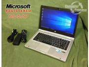 "HP Laptop EliteBook 8460P Intel Core i5 2.53 GHz 8 GB Memory 320 GB HDD Intel HD Graphics 14.0"" Windows 10 Pro"