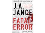 Fatal Error Reprint Jance, Judith A.
