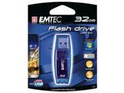 EKMMD32GB EMTEC C400 CANDY (BLUE), 32GB USB 2.0 FLASH DRIVE