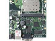 Mikrotik RB411AR, RouterBOARD 411AR, OSL4, 802.11b/g wireless MMCX.