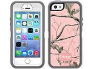 OtterBox Defender Carrying Case (Holster) for iPhone - Shock Resistant, Dust Resistant, Drop Resistant, Scratch Resistant, Bump Resistant - Silicone - Realtree AP Pink