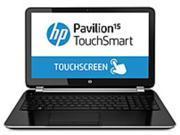 HP Pavilion TouchSmart E9G53UA 15-n047cl Notebook PC - Intel Core i5-4200U 1.6 GHz Dual-core Processor - 6 GB DDR3L SDRAM - 750 GB Hard Drive - 15.6-inch Touchscreen Display - Windows 8 64-bit