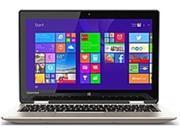 Toshiba Satellite Radius 11 PSKVUU-005013 L15W-B1307 Laptop PC - Intel Pentium N3540 2.16 GHz Quad-Core Processor - 4 GB DDR3L SDRAM - 500 GB Hard Drive - 11.6-inch Display - Windows 8.1 - Satin ...