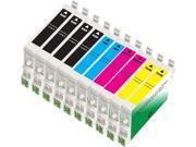 10 Epson Stylus D88 Ink Cartridges Combo Pack (compatible)